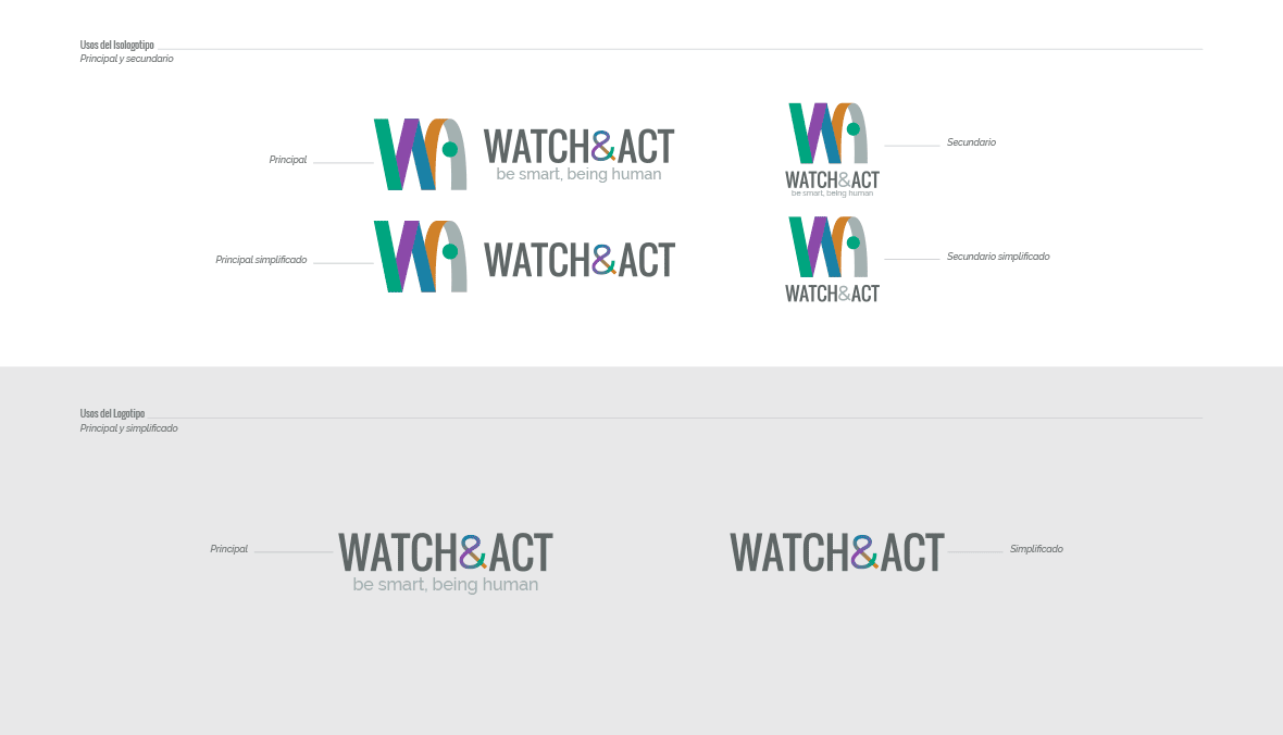usos de logotipo en manual corporativo